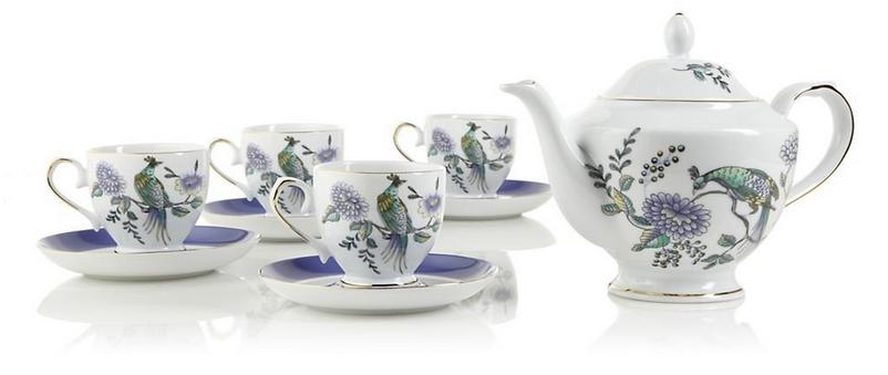Peacock Room Tea Set